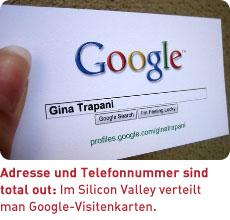 Google-Visitenkarte