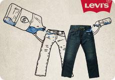 Levi's wirbt mit geringem Wasserverbrauch